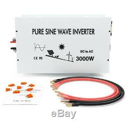 3000W Solar Power Pure Sine Wave 48V to 230V 240V Off Grid Home System Generator