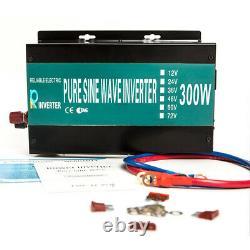300W Car Power Pure Sine Wave Inverter Off Grid Solar Power Car RV Camp