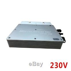 300W MPPT Solar Power Pure Sine Wave Communicate Monitor Grid Tie Micro Inverter