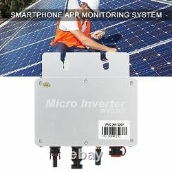 300With 600With 1200With 1600W MPPT Micro Grid Tie Solar Inverter Power Converter