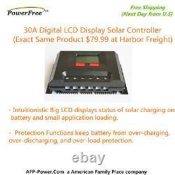 300w 300 Watt 3 100w Solar Panel Plug-n-Power Space Flex Kit 12 Battery Off Grid