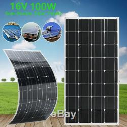 300w Solar Panel Solar Power System Outdoor Solar Charging For Off Grid Car Boat