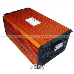 3KW Off Grid Pure Sine Wave Solar Power Inverter 12V DC to 220V AC for PV System