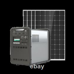 3KW Solar Power Generator 4.5 KWh Lithium Battery Off Grid Mobile Power all-in-1