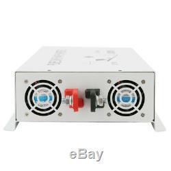 4000W Pure Sine Wave Inverter 24V Solar Power DC to AC Converter Off Grid Home