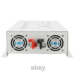 4000W Pure Sine Wave Power Inverter 12V to 110V Solar Off Grid System Home Motor
