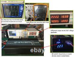 4000W Pure Sine Wave Power Inverter 36V DC to 240V 50HZ Off Grid Solar System RV