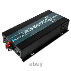 4000W Pure Sine Wave Power Inverter 36V to 240V Solar Battery Backup Off Grid