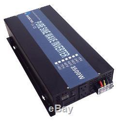 48V DC to 120V/220V AC 3500W Off Grid Pure Sine Wave Home Solar Power Inverter