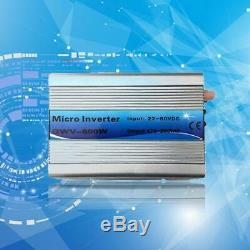 500/600 Mirco Grid Tie Inverter Solar Power System Sine Wave With Cord New