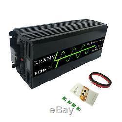 5000W Off Grid Pure Sine Wave Solar Power Inverter 24V 48V DC to 120V 240V AC