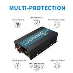 5000W Pure Sine Wave power Inverter 12VDC to 110-120VAC RV/Home Solar Off Grid
