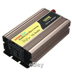 500W DC12V to AC220V Pure Sine Wave Solar Power Inverter Circuits Off Grid for