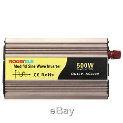 500W DC12V to AC220V Pure Sine Wave Solar Power Inverter Circuits Off Grid for H