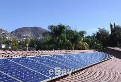 5kw solar system, Inverter Solar Panel, Grid Tied Solar System, Unirac Racking