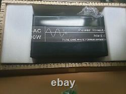 6000With12000w Off Grid Solar Power Inverter Pure Sine Wave 48V DC to 110V 60Hz