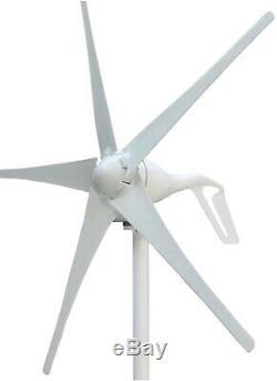 600W 24V Hybrid Wind Solar Power DIY Off Grid Kit for Farms Home RV Boat