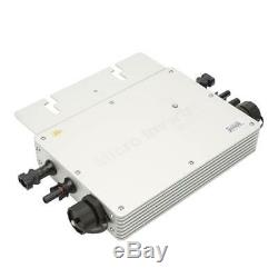 600W IP65 Waterproof Solar Power Converter Grid-tie Micro Inverter 22-50VDC 40A