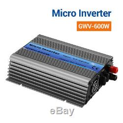 600W Solar Power Grid Tie Inverters For 24V/36V Storage Battery & Solar Panel