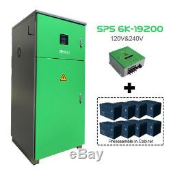 6kw Solar System, Split Phase off-Grid Solar System, 17.28 kwh Battery Storage