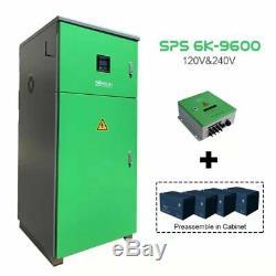 6kw Solar System, Split Phase off-Grid Solar System, 8.64kwh Battery Storage