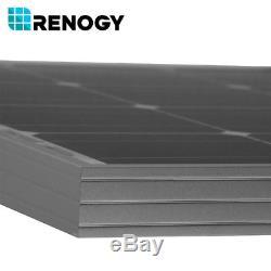 6pcs Renogy 100W 12V Mono Solar Panel 600 Watt 600W Off Grid PV Power Home Cabin