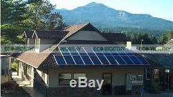 800W Grid Tie Solar Power System 8pcs 100W Solar Panel with 1200W Inverter Home