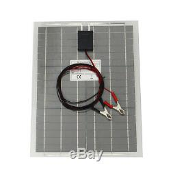80W 12V Mono Solar Panel Off Grid Battery Charger 20WX4For Boat Motorhome US