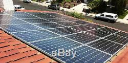 9000W COMPLETE KIT 40240W PV Solar cell Panel Grid Tie System