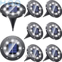 Biling Solar Lights Outdoor Grid Design Shell, Powered White