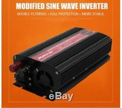 Car Power Converter Modified Sine Wave Inverters Portable Solar Power Off Grid