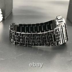 Casio G-Shock GMW-B5000CS-1 Atomic Solar Powered Bluetooth Laser Grid Tron Watch