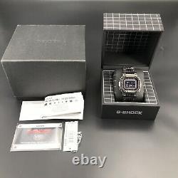 Casio G-Shock GMWB5000CS-1 Atomic Solar Powered Bluetooth Laser Grid Tron Watch