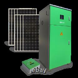 Complete kits 6KW off-grid solar power station 19.2 KWh Battery Storage 3.6KW PV