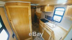 Converted Cargo Trailer 6x12 solar power kitchen shower self contained off grid