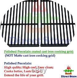 Direct Store Parts DC119 Polished Porcelain Coated Cast Iron Cooking Grid Kenmo