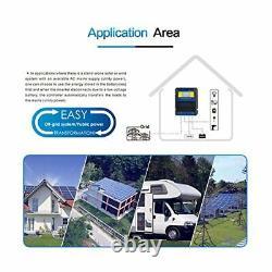 Dual Power Controller 50A 5500 Watt Automatic Transfer Switch for Off Grid Solar