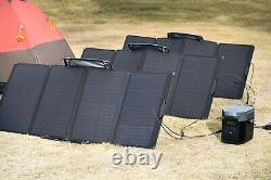 EcoFlow 160W Portable Solar Panel for Power Station for outdoor and off grid