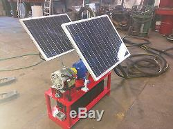 FlowDaddy 60 Solar Powered Off-Grid Pumping System withGoulds Pump
