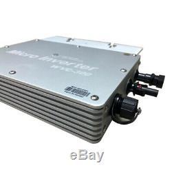 Grid Tie Micro Inverter MPPT Solar Power Pure Sine Wave Output 230V 1200W
