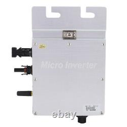 Grid Tie Micro Inverter Solar Power Monitoring For Solar Home System