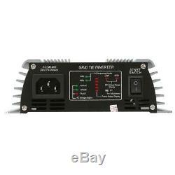 Grid Tie Pure Sine Wave Household Solar Power Inverter 22-60V US Plug 120V 600W