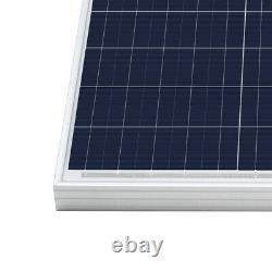 HQST 200W Watt 12 Volt Poly Solar Panel 2 PCS 100W 12V Off Grid PV Power RV Home