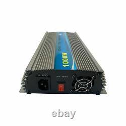 KRXNY 1000W Grid Tie Inverter Pure Sine Wave Stackable MPPT Solar Power 10.8