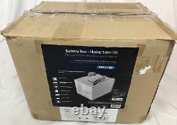 Kisae 1800-Watt Off-Grid Solar Powered Electric Start Portable Battery Bank Only