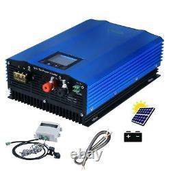MPPT Solar Dc Grid Tie Inverter With Limiter Sensor Battery Discharge Power Mode