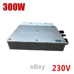 MPPT Solar Power Pure Sine Wave Communicate Monitor Grid Tie Micro Inverter