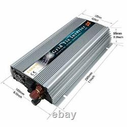 Marsrock 1000W 12V Wind 18V Grid Tie Pure Sine Wave MPPT Solar Power Inverter