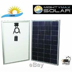 Max Battery 100 watt Off Grid Solar Power System 100w 12v -18v high Efficiency