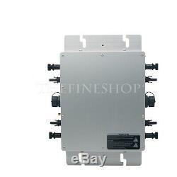 Micro Inverter 110V/220V Solar Power Energy Grid Tie Pure Sine Wave WVC1200W